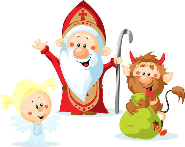 Mikuláš a děti