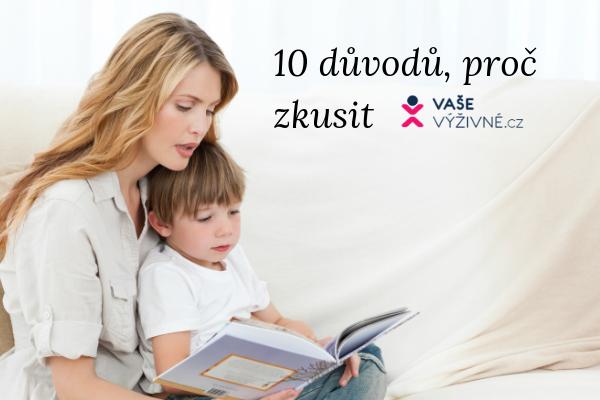 10 důvodů, proč vyzkoušet program VašeVýživné.cz
