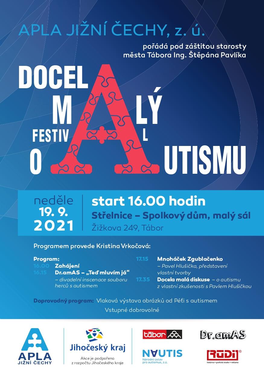 Pozvánka na malý festival o autismu